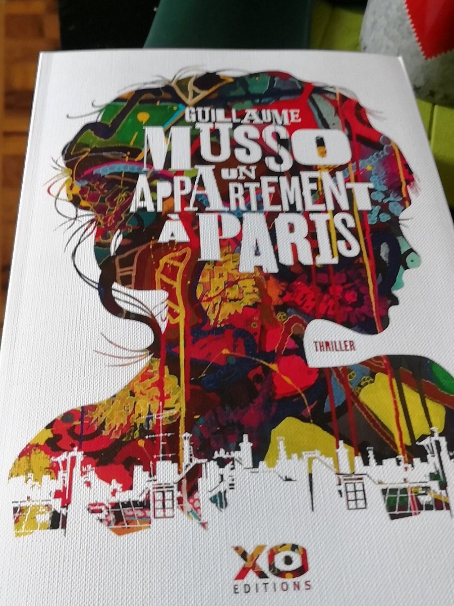 Un nouvel achat...que j'espère terminer au plus vite ! #UnAppartementAParis @Guillaume_Musso https://t.co/b86b7tD2ni