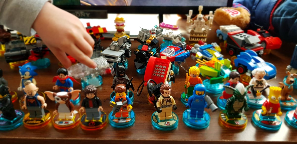 "LEGO Dimensions on Twitter: ""That's a pretty sweet collection! We ..."
