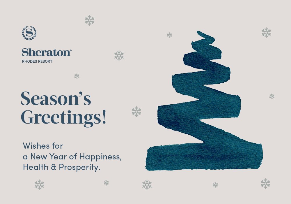 Sheratonrhodesresort on twitter seasons greetings wishes for a 300 am 30 dec 2017 m4hsunfo