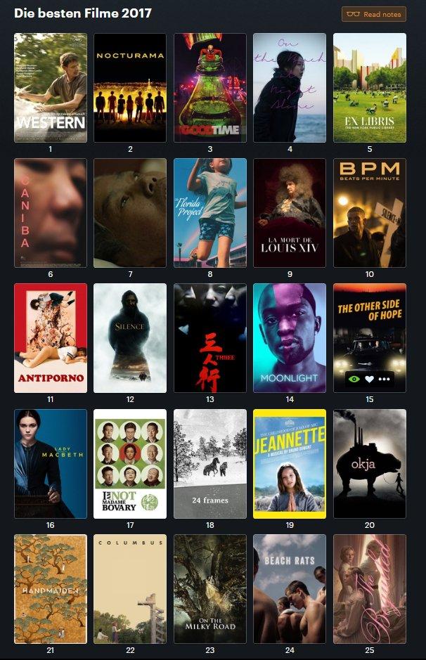 liste bester filme