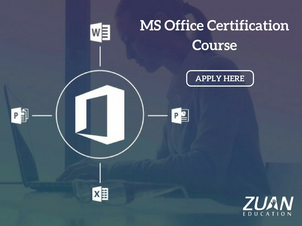 Zuan Education On Twitter Gain Ms Office Skills From Industry
