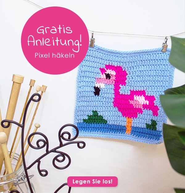 Wollplatzde على تويتر Pixel Häkeln Kann Man Auch Mit Sticken