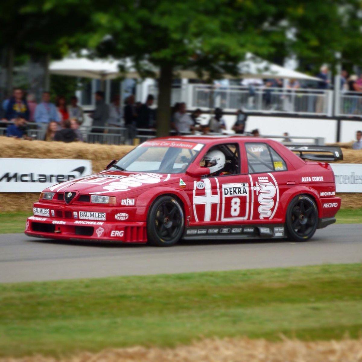 Batch On Twitter Best Car Of 2017 It Was One From 1993 Alfa Alfaromeo Dtm Alfa155 V6 Racing Racingcar Touring Cars Goodwood Fos Goodwoodfos
