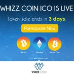 Image for the Tweet beginning: ICO ends in 3 days!
