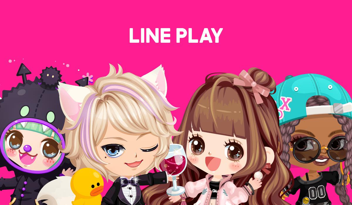 Download LINE PLAY and hang with my avat...
