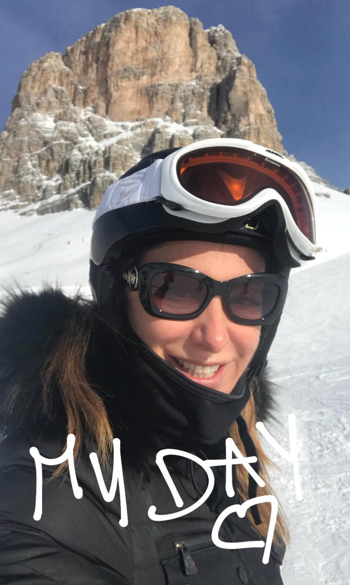 My day #Saturday #snow #mountains #holid...