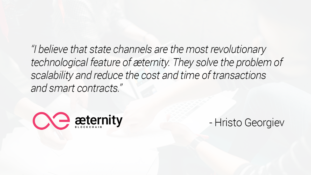 """The Future Is Now Quote Æternity Blockchain On Twitter """"another Quote From Aeternity's"""