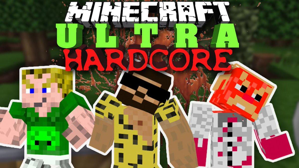 Piet On Twitter In Der Neusten Folge Minecraft Ultra Hardcore - Minecraft beste spiele
