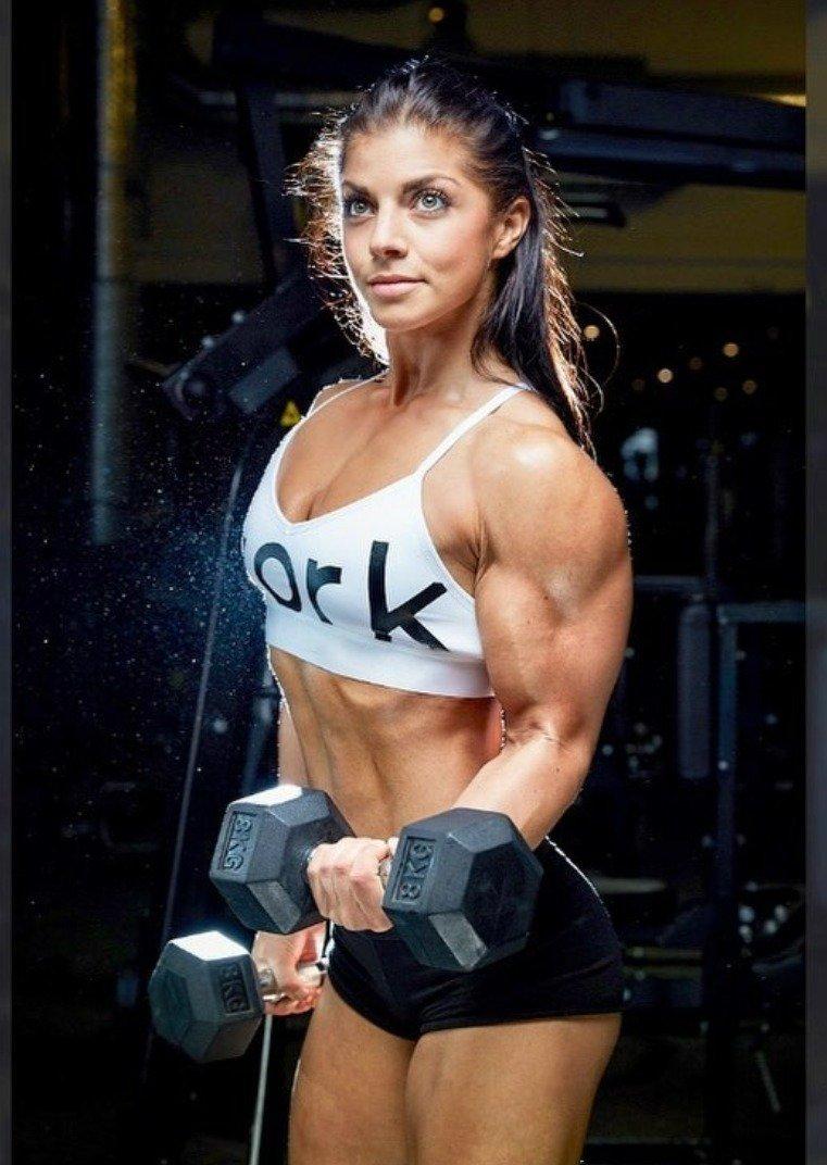 Bodybuilding Big Bicepsday Muscles Fitnessmotivation Fitfan Doyouevenlift Superwoman Badass Fbb Bodybuilder Flex Pecs Abs Omg Hardbody