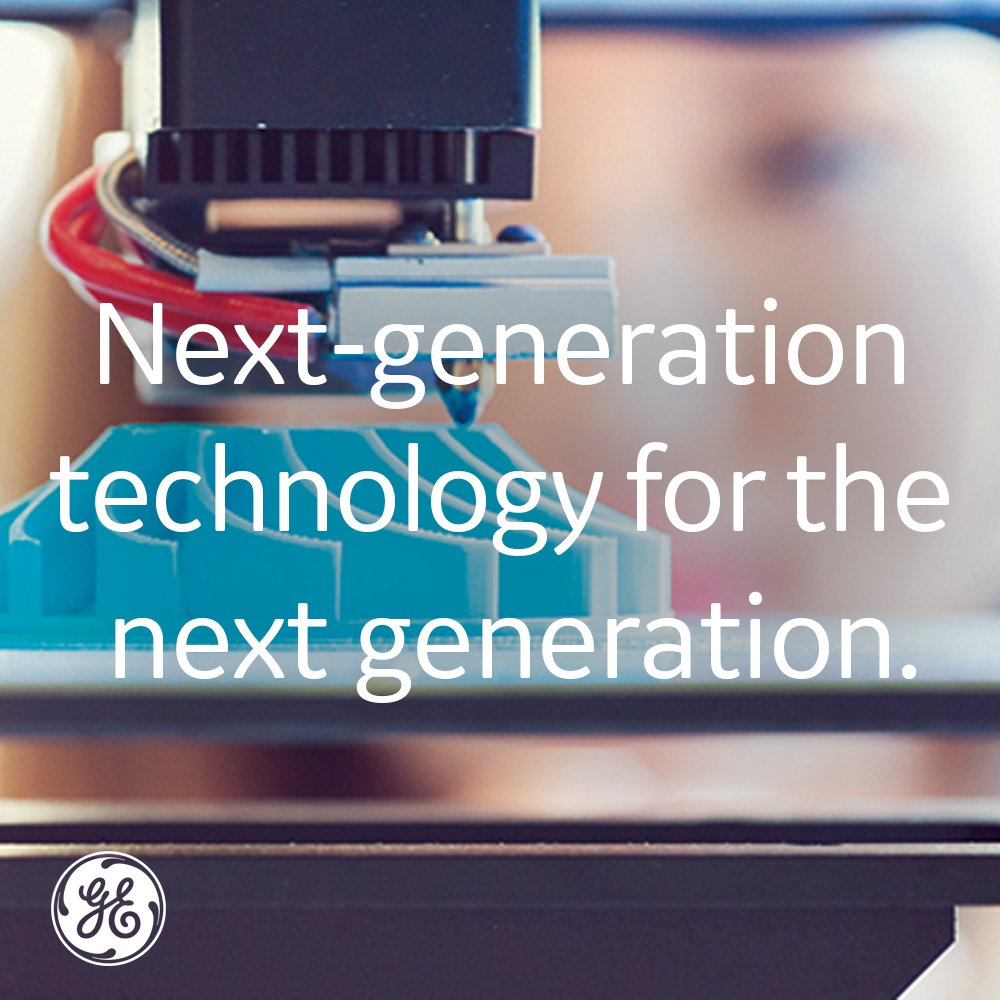GE Additive On Twitter: