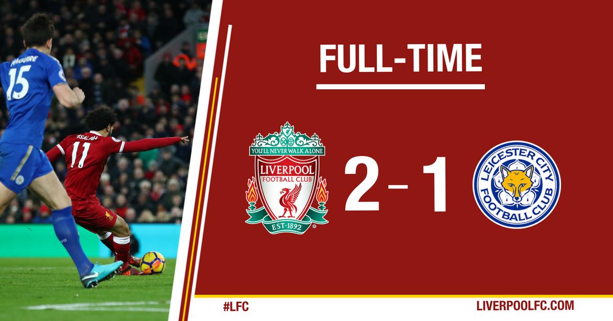 Chấm điểm trận Liverpool 2-1 Leicester City