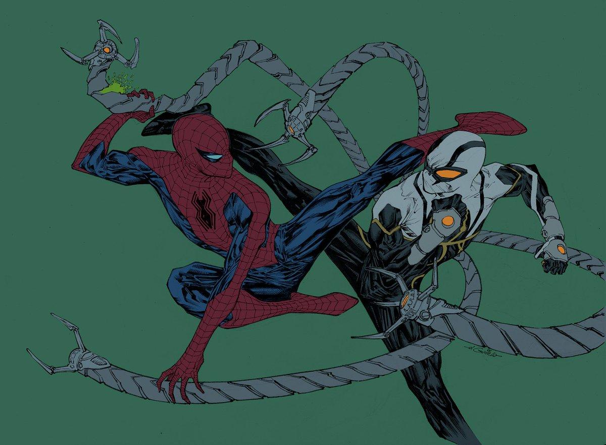 spiderguile on twitter spideycember 2017 day 27 doctor octopus