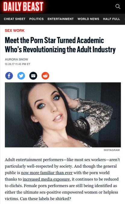 Read more about my academic research in this @thedailybeast article by @MissAuroraSnow https://t.co/vzgMjF5Uey