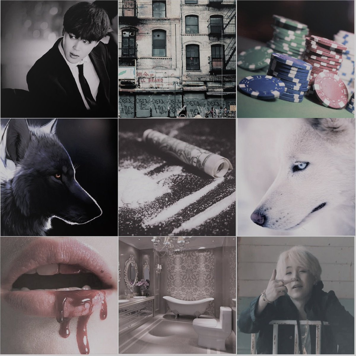 Black and White - Chapter 1 - Centristy - 방탄소년단 | Bangtan Boys