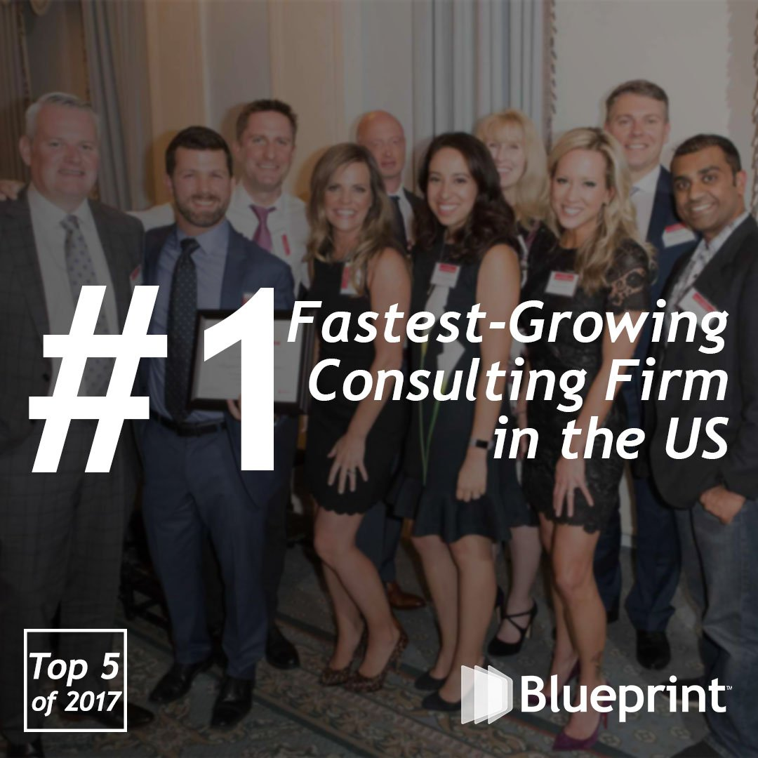 Blueprint blueprintcsllc twitter to cap off our top 5 of 2017 our award of being named consultingmags fastest growing private firm takes the 1 spot on our list malvernweather Gallery