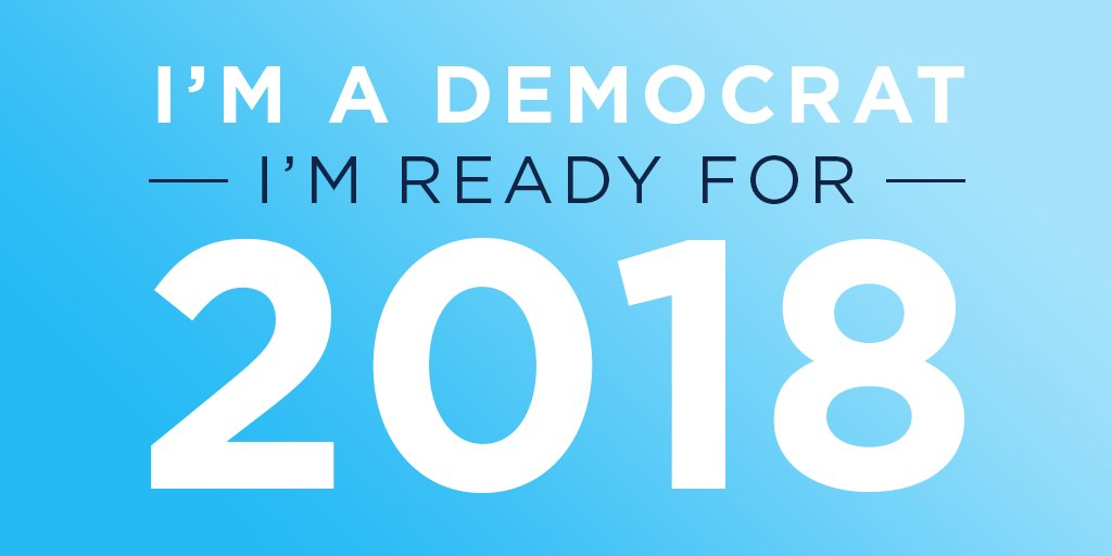 Image result for 2018-Year of The Democrats