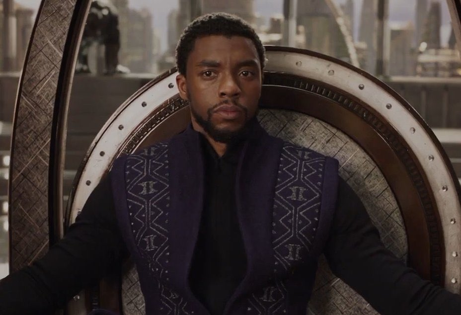 marvel really expect me to be picking sides in black panther when their hero AND villain look this fine?! fuck that! imma be a hoe-... in the name of wakanda.