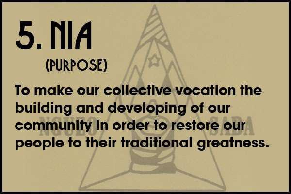 #Kwanzaa day 5 Principle is Nia or Purpose https://t.co/IkwFUbofCF