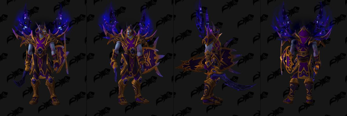 Wowhead On Twitter Check Out The Datamined Weapon Models That Match Nightborne And Void Elf Heritage Armor Https T Co Fzfqmam7kk Got my void elf heritage armor today. void elf heritage armor