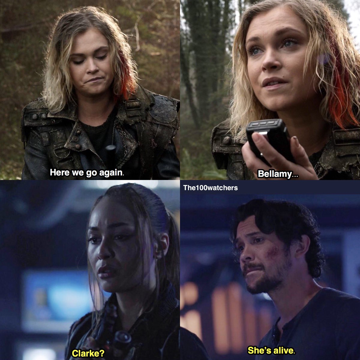 they believe in each other    Bellarke/The 100   The 100, The 100