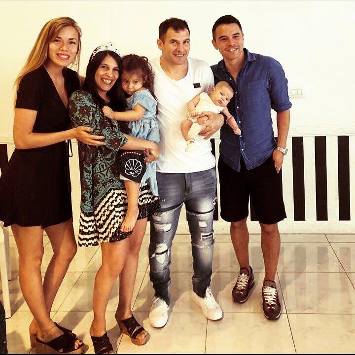 Con mi gran amigo Matias!!! Y su hermosa familia...
