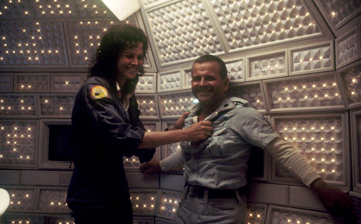 Behind the scenes of ALIEN (1979) #scifi...