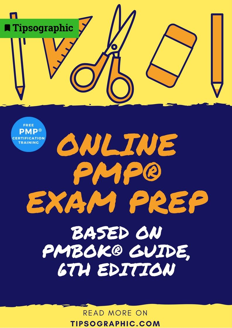Tipsographic On Twitter Free Online Pmp Exam Prep Based On