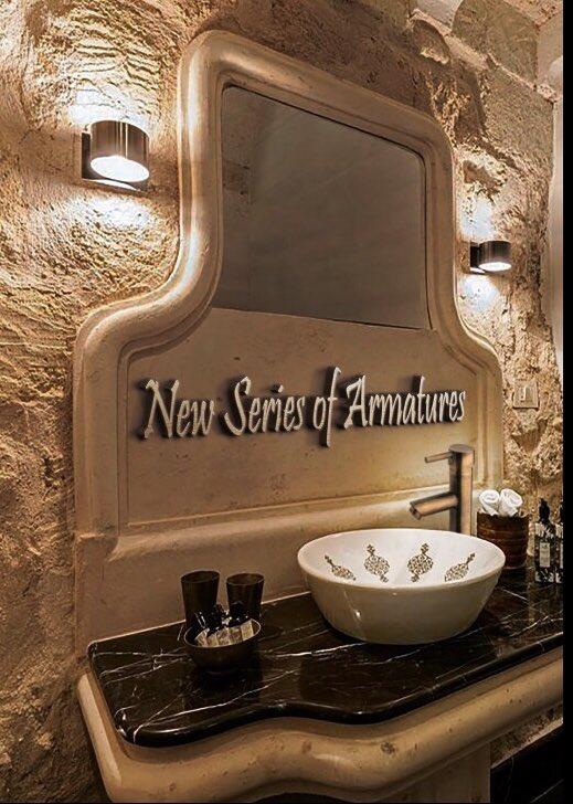 Brpol Moroccan Brass Bathroom Sink
