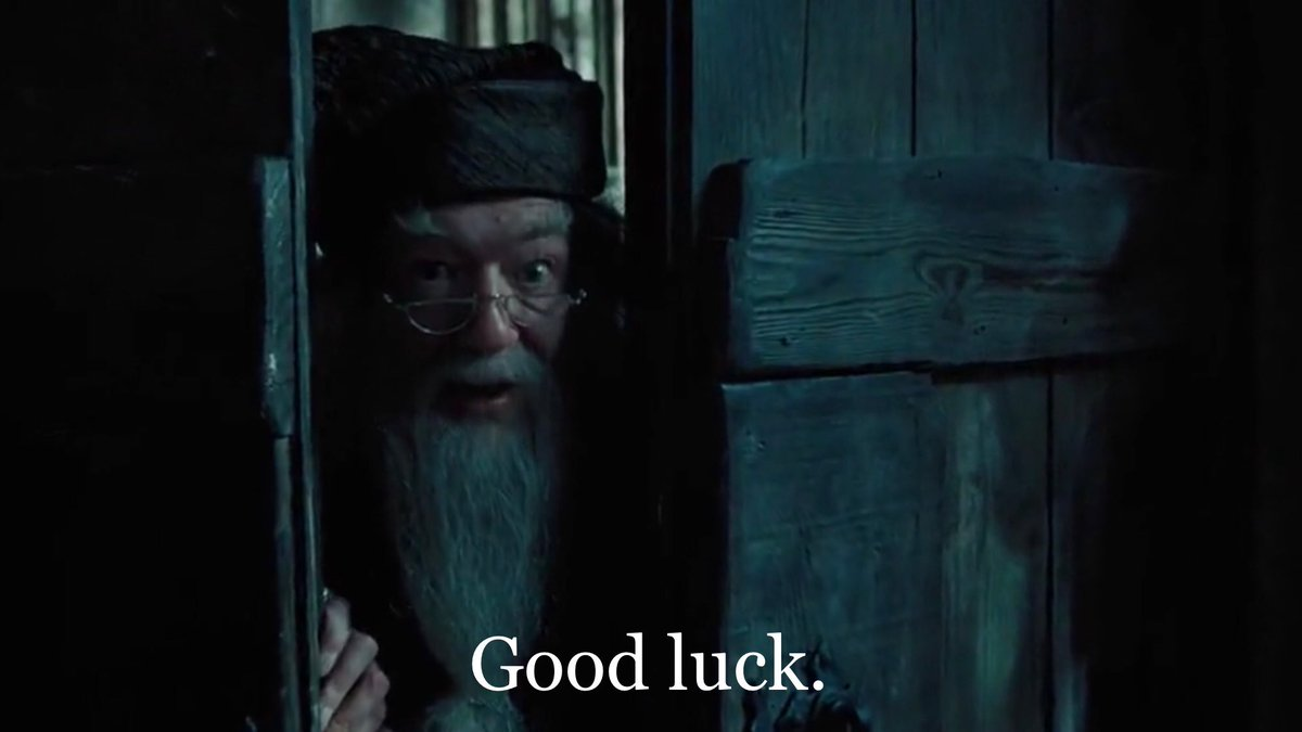 luke cutforth s tweet if you start watching harry potter and the prisoner of azkaban at 101228 pm tonight dumbledore will wish you good luck