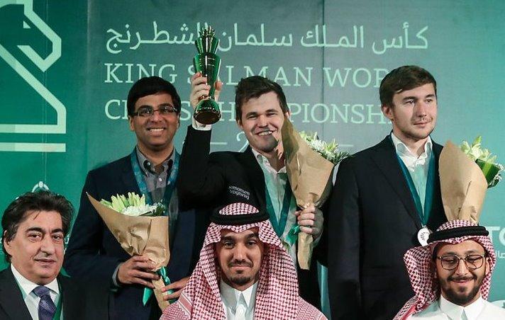 الروسي كارياكين وصيفا لبطل كأس الملك سلمان للشطرنج DSXPK6mXkAAswih