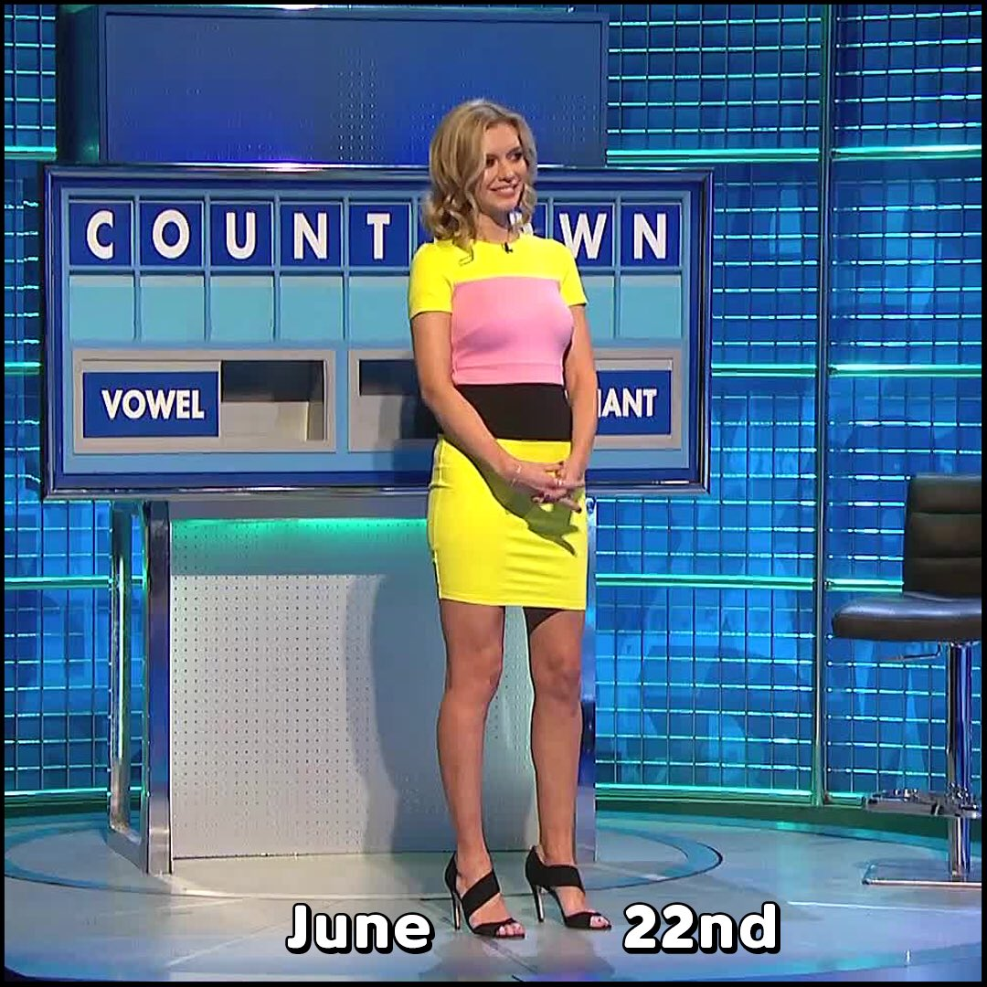 Rachel Riley Fan Club On Twitter Rachel Riley 8 Out Of 10 Cats Does Countdown Outfit Of The Year 2017 Series 12 Round 1 Poll 3