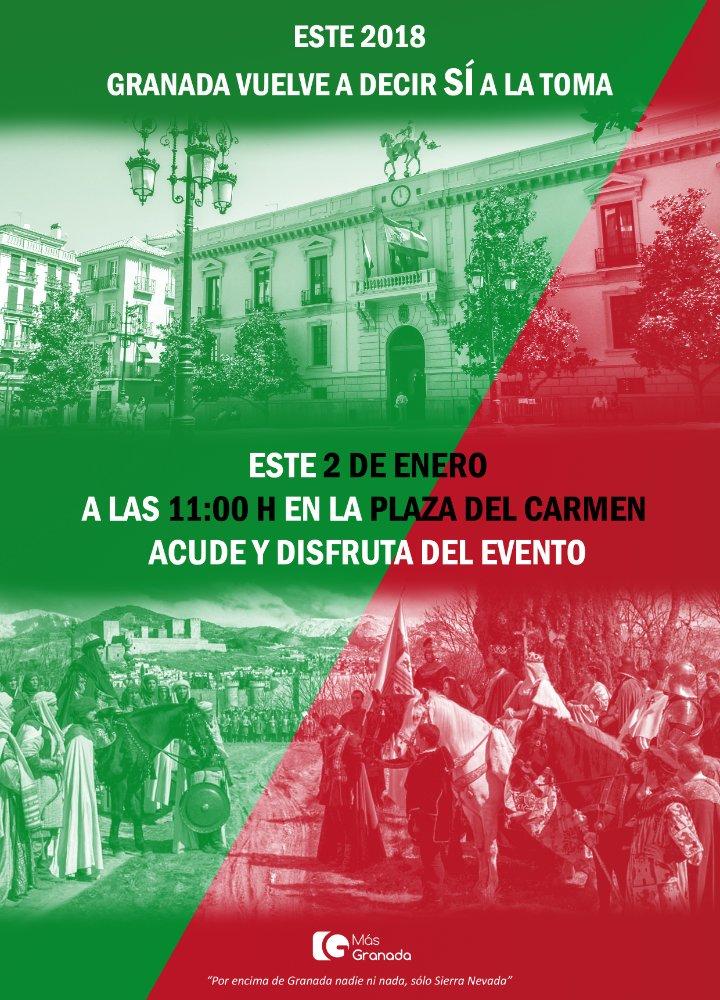 Resultado de imagen de Mas Granada 2 de enero