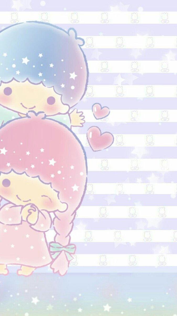 On Twitter Wallpapers LITTLE TWIN STAR Wallpaper