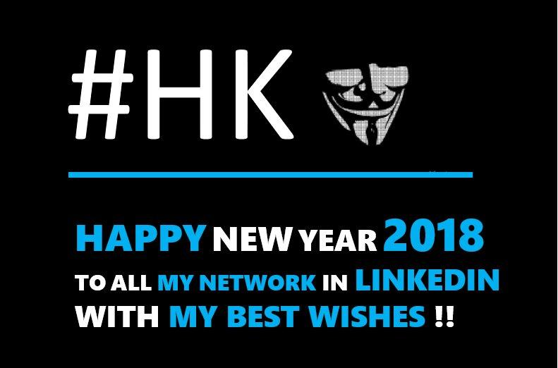Echo U0027Hello Twitteru0027, Happy New Year (2018) To Everybody, With