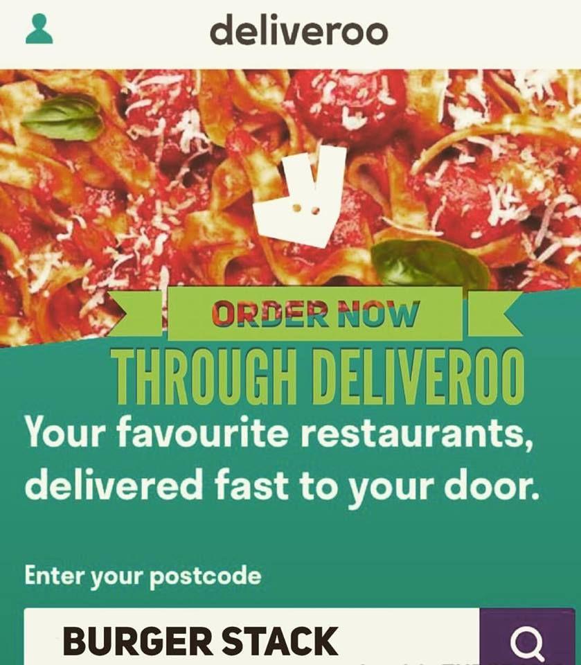 Deliveroo Windsorandeton Windsor Eton Burgerstack Delivery Burgers Chips Milkshakes Rawjuices Smoothie Twitter H93snegp1m