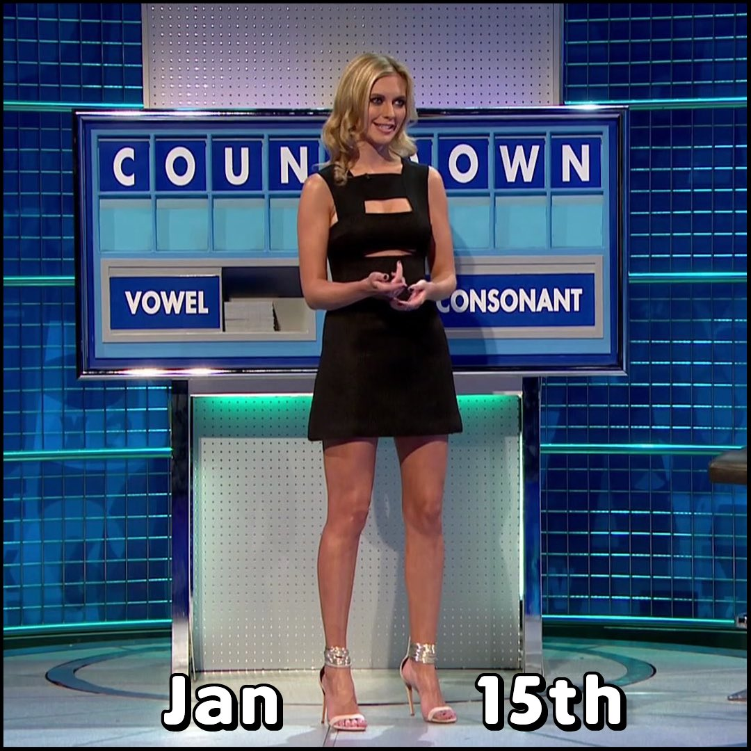 Rachel Riley Fan Club On Twitter Rachel Riley 8 Out Of 10 Cats Does Countdown Outfit Of The Year 2017 The Final