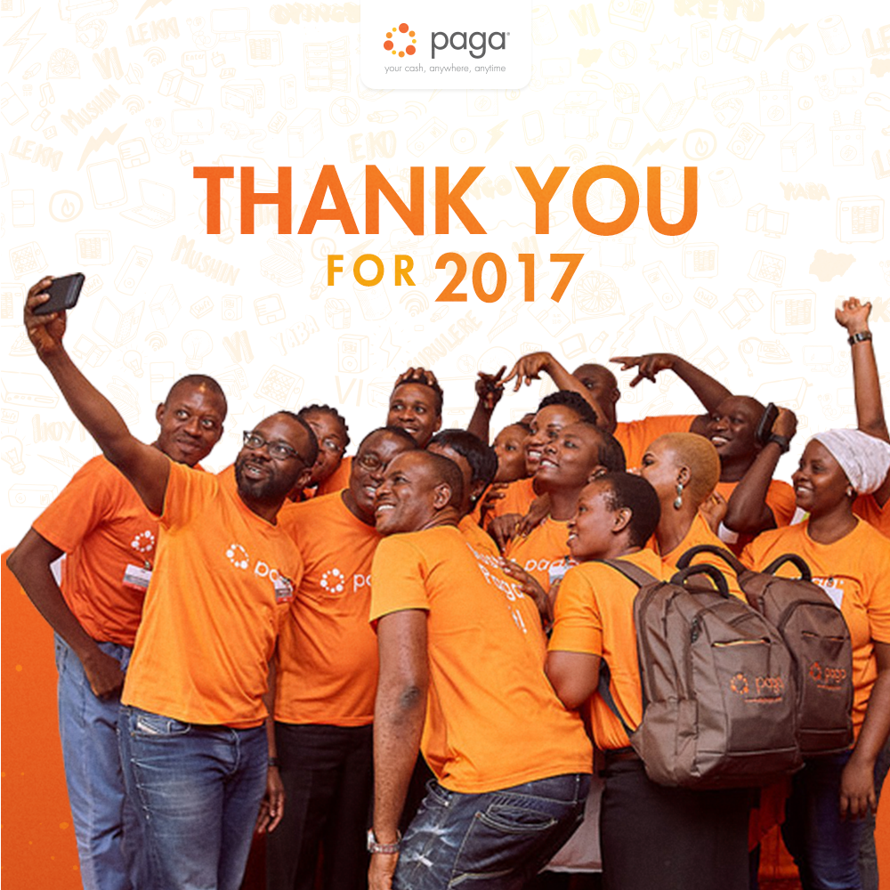 "Milestones From 2017 Into 2018: Paga On Twitter: ""It's Been A Pleasure Working With You"