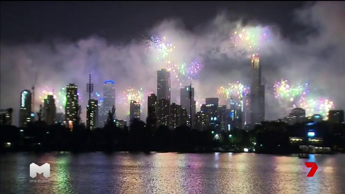 7 news melbourne on twitter happy new year melbourne nyemelb 7news