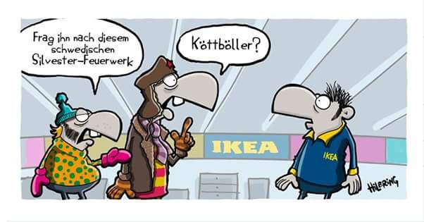 Ikea Silvester michael e pilarczyk on köttbullar ähm köttböller