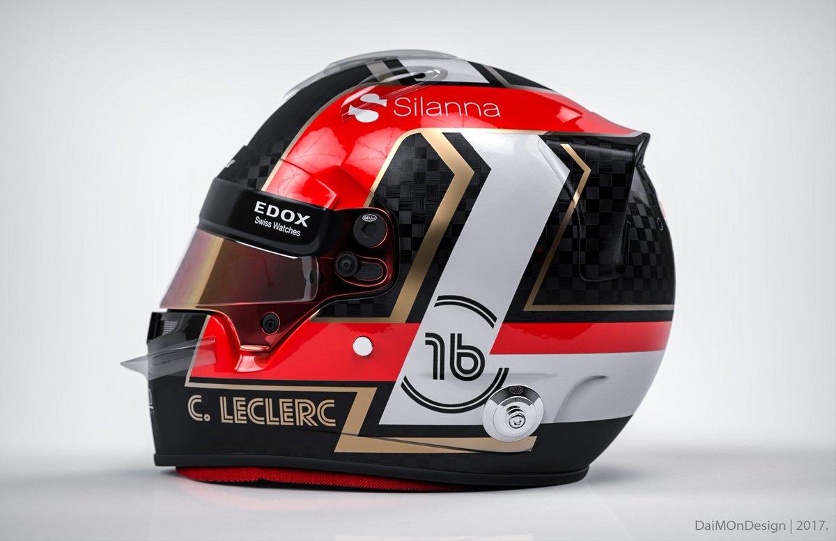 F1 Helmets on Twitter: