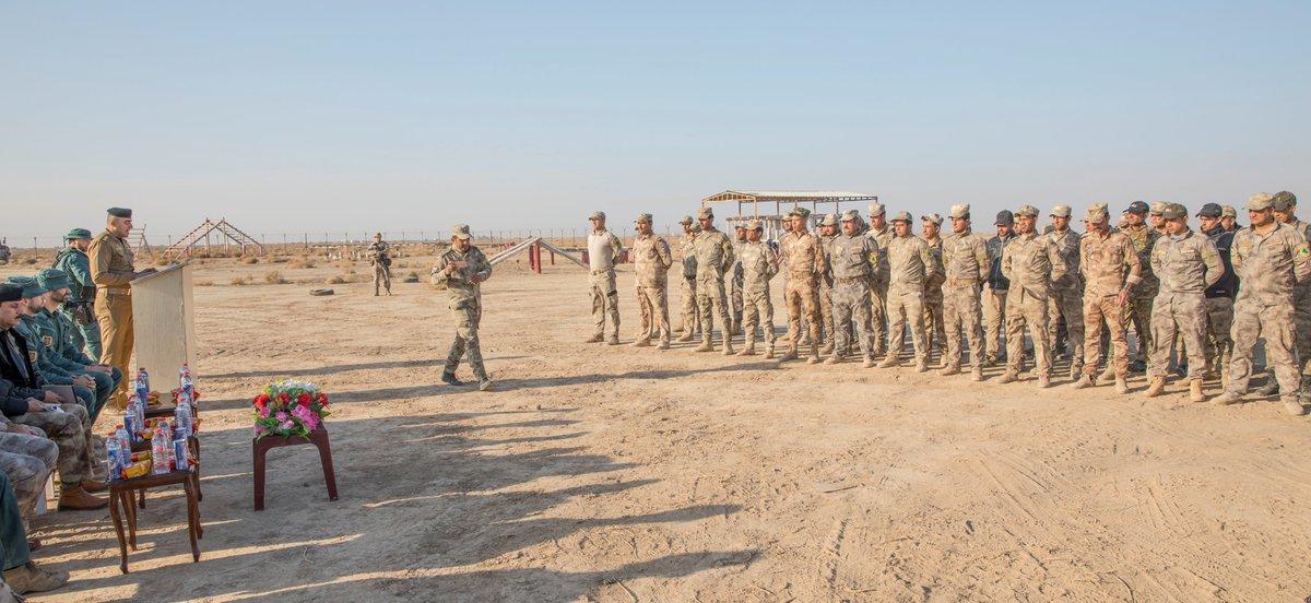 قوات التحالف الدولي تدرب وتجهز قوات حرس الحدود العراقيه  DSYq-PMUIAUQmTY