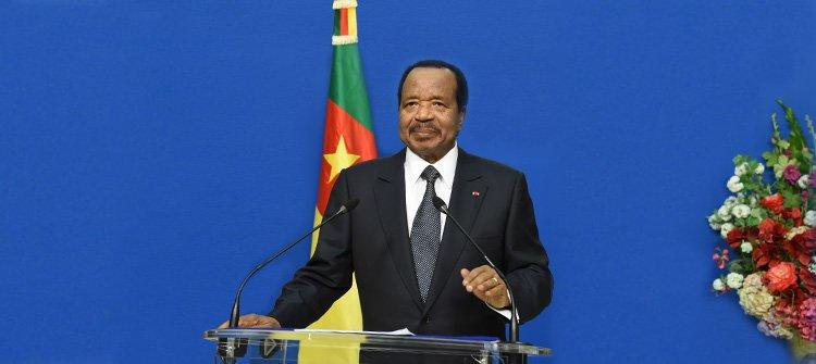 Voici le texte de mon message de fin d'année 2017 à la Nation: https://t.co/fRYzFo5VSd  #PaulBiya #Cameroun