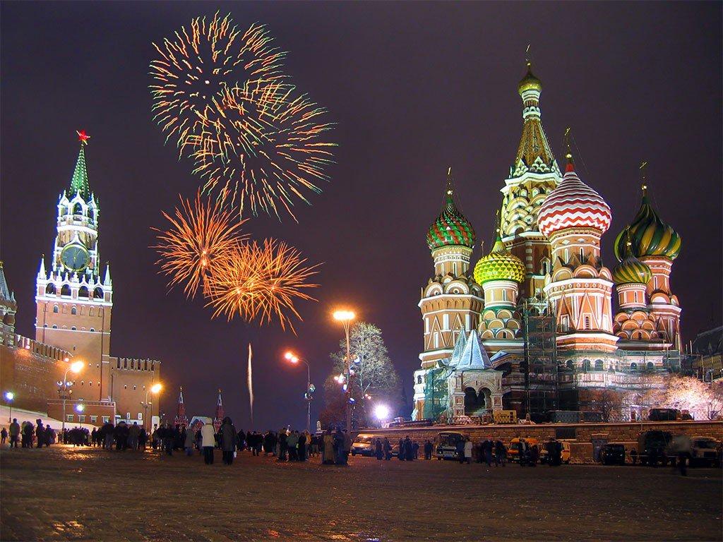 Российские новогодние картинки