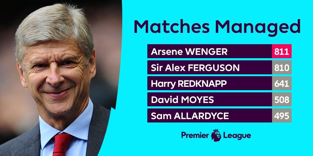Arsene Wenger makes #PL history 🙌 https:...