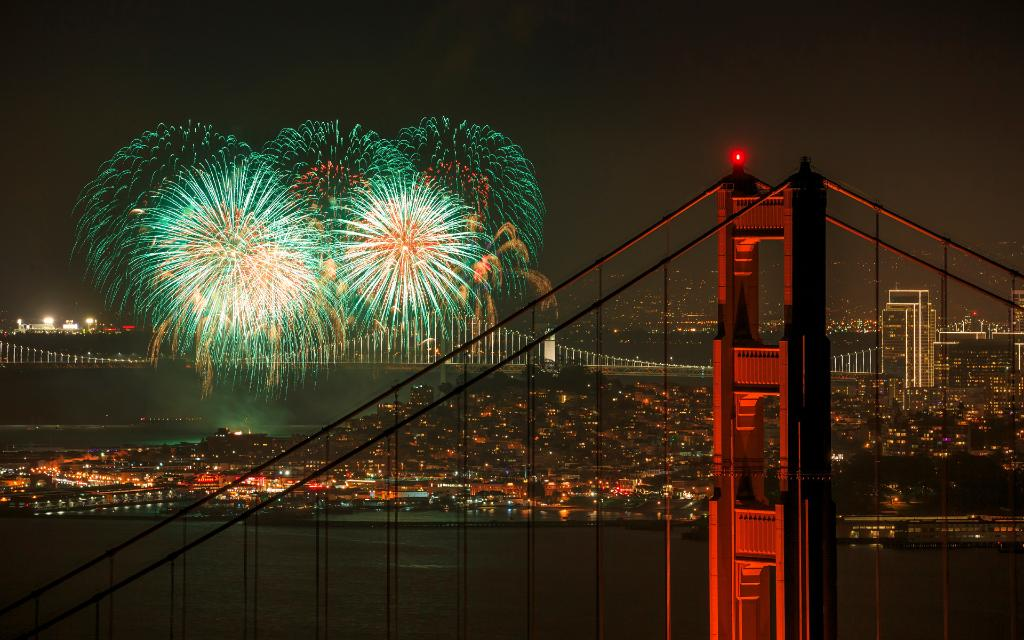 celebrate the new year with this free 16 image windows theme of fireworks from across