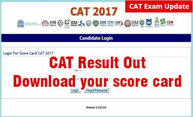 #CATResult Out: #Download your #Scorecard now; avoid technical glitches http://www.mbauniverse.com/article/id/10593/cat-results…   #IIMLucknow has released the #CATresult on January 8, 2018 in the morning on its official CAT website