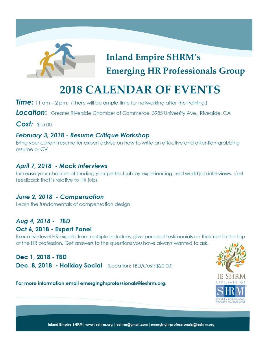 inland empire shrm on twitter ehrp workshop february 3 2018