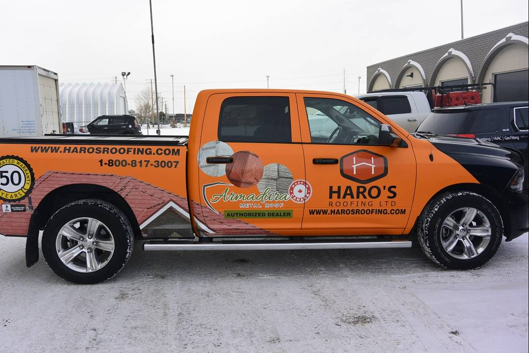 We coverered the car with matte orange and finished off by adding printed gloss decals commercialwrap wrapped 3mgraphics matte gloss carwraps decals