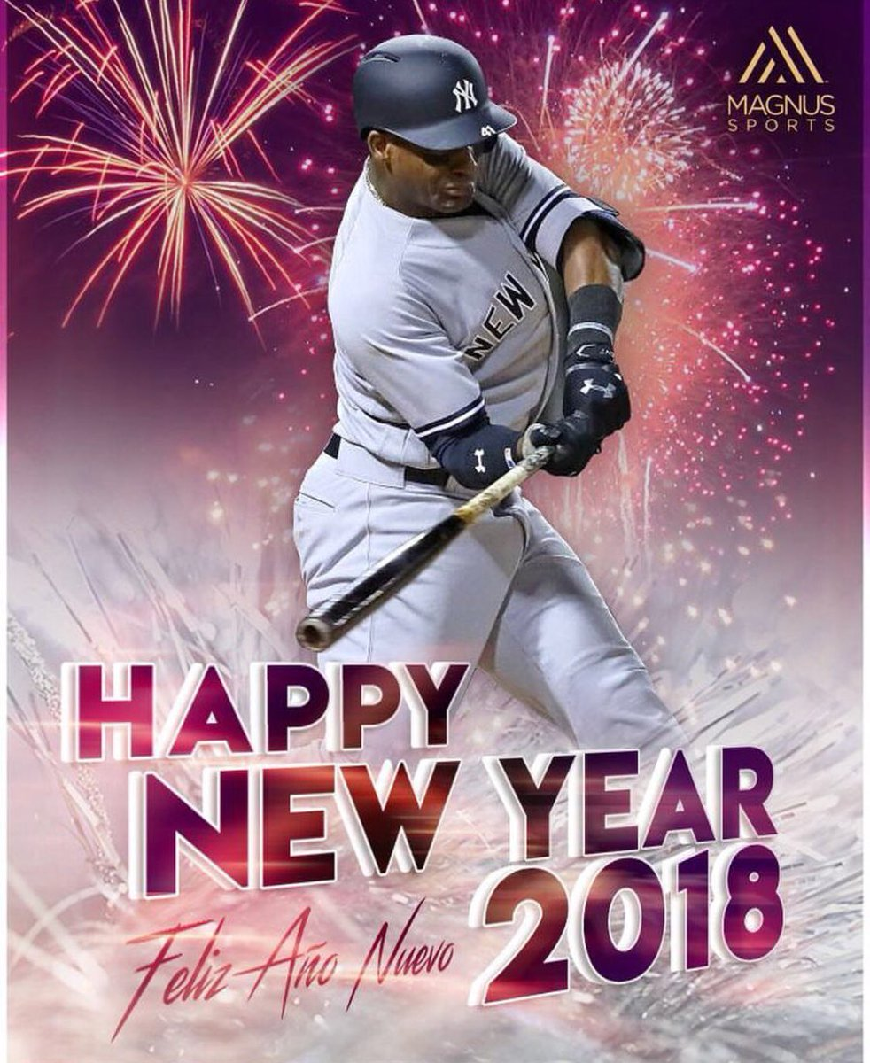 thank you god for all the blessings ready for 2018 thanks magnusmedia magnusstrong yankees httpstcocqo9lefd9c