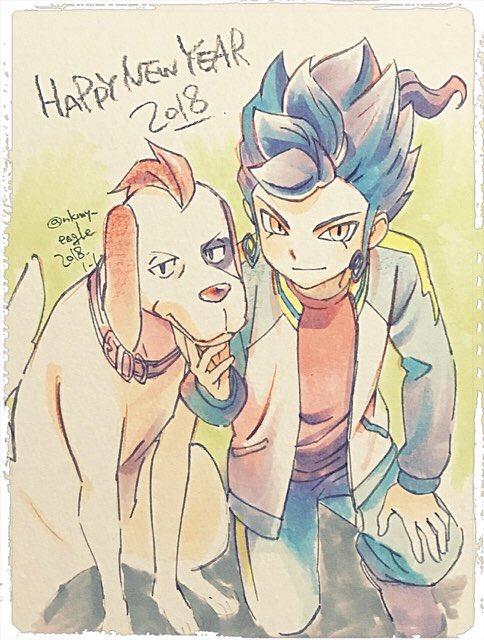 2018年あけましておめでとうございます。 今年も幸多き年になりますように! (GOも何かありませんか)